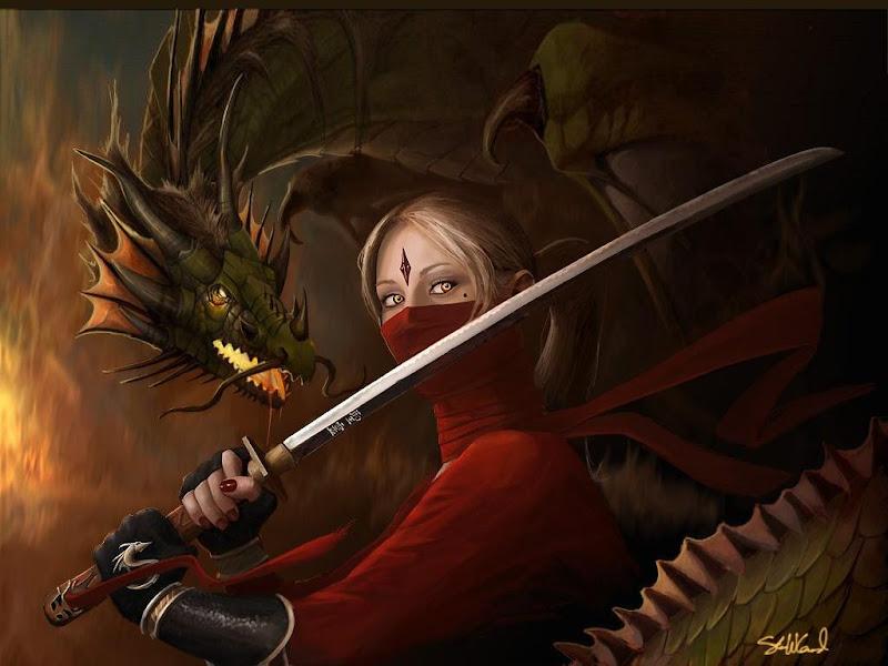 Dragon And Red Ninja, Dragons 2