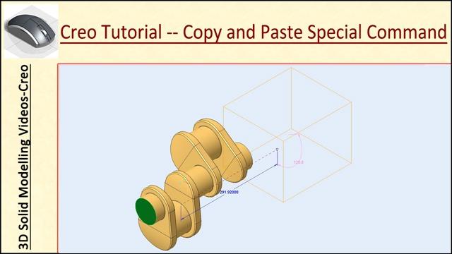 Creo-Parametric-Tutorial---Copy-and-Paste-Special-Command