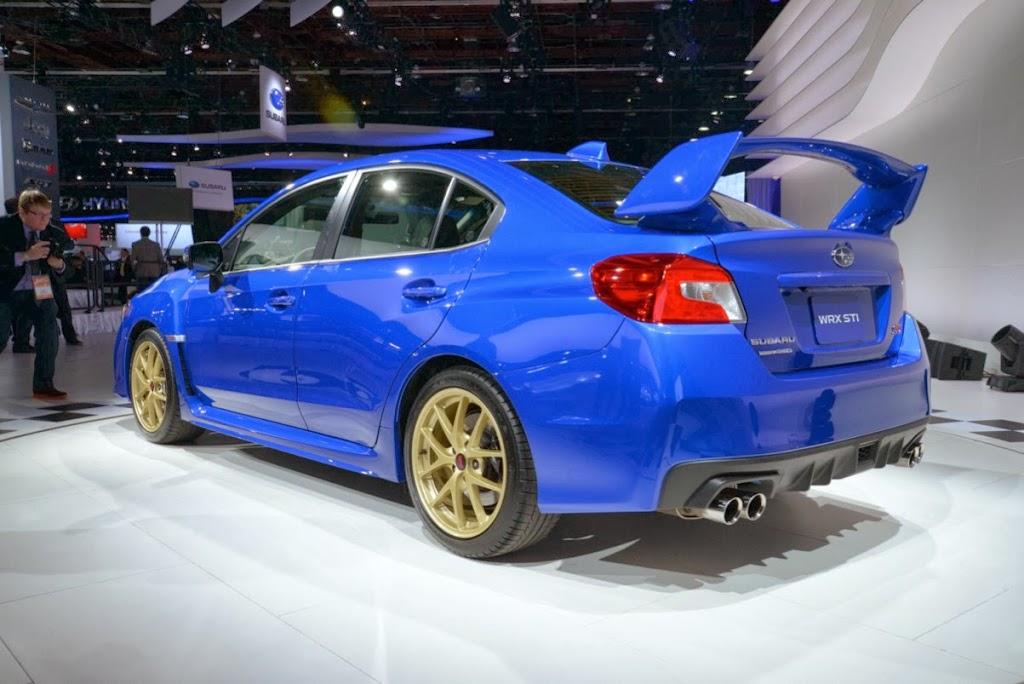 2015 Subaru WRX STI NAIAS 6