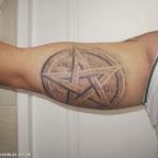 Five pointed star - Star Tattoos