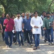 pawankalyan Sardar Shooting In Gujarath Photos