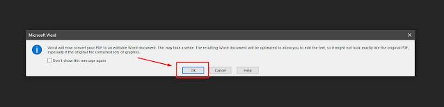 Cara Merubah File PDF ke Word untuk di Edit