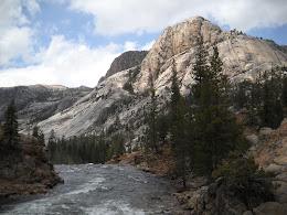 Tuolumne river in Yosemite.