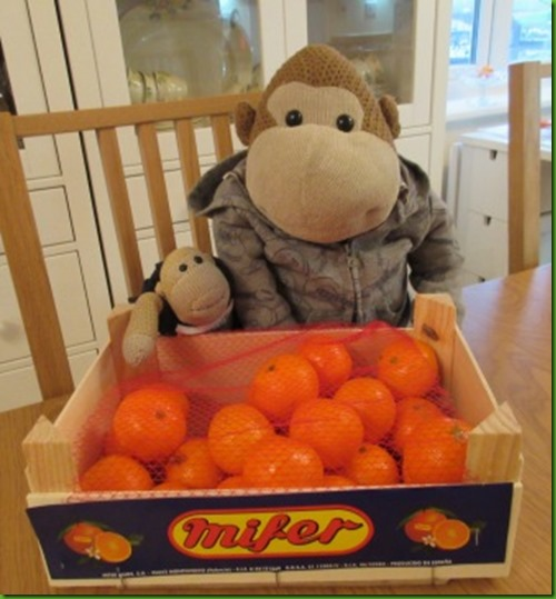 box of satsumas