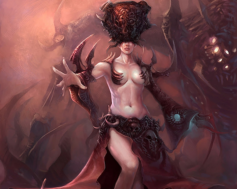 Dark Demoness Of Hell, Demonesses