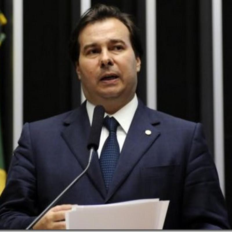 Rodrigo Maia diz que PSDB e DEM vão liderar reformas de Temer