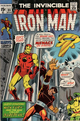 Iron Man #35, Nick Fury and Zodiac