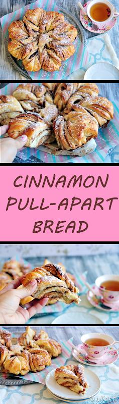 Cinnamon Pull-Apart Star Bread (Tang Zhong Method 湯種法)   http://uTry.it