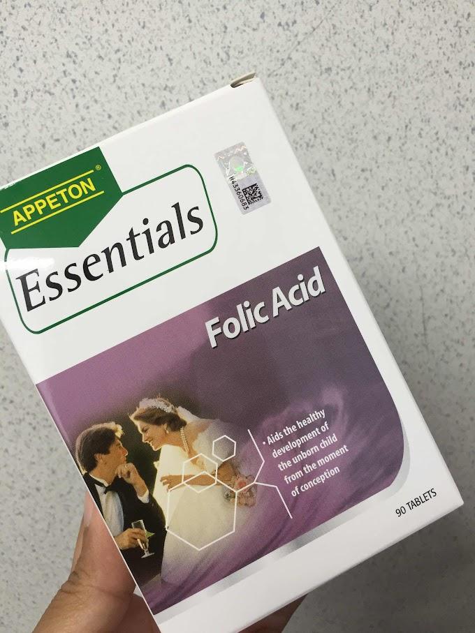 Asid folik (Folic Acid) penting untuk kesuburan dan kehamilan