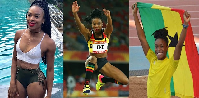 Meet The Nigerian Athlete Who Ditched Nigeria To Represent Ghana At Tokyo Olympics [Photos]