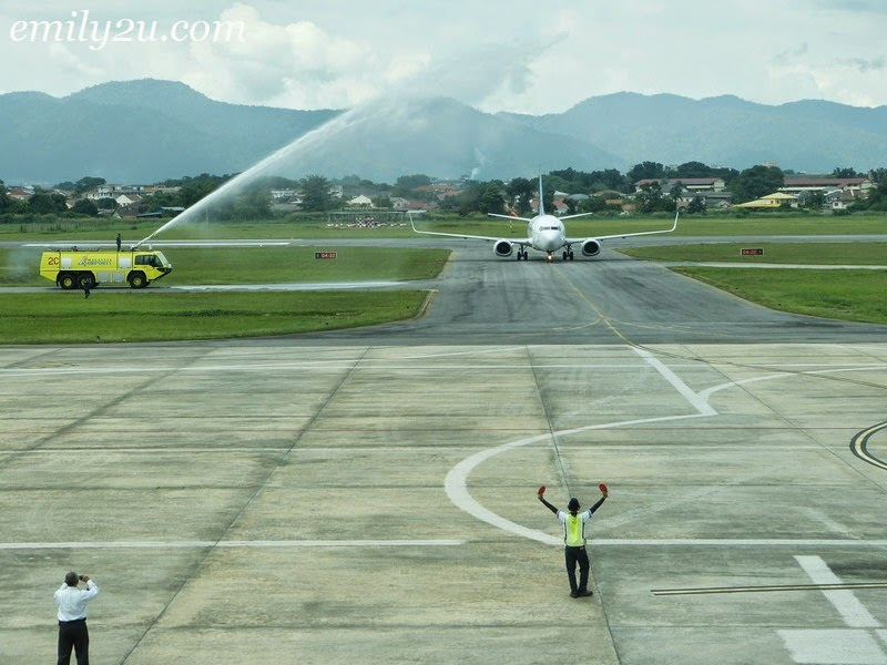 YOU Wings Inaugural Flight Launch (Ipoh - Medan)
