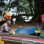 Pintando las embarcaciones
