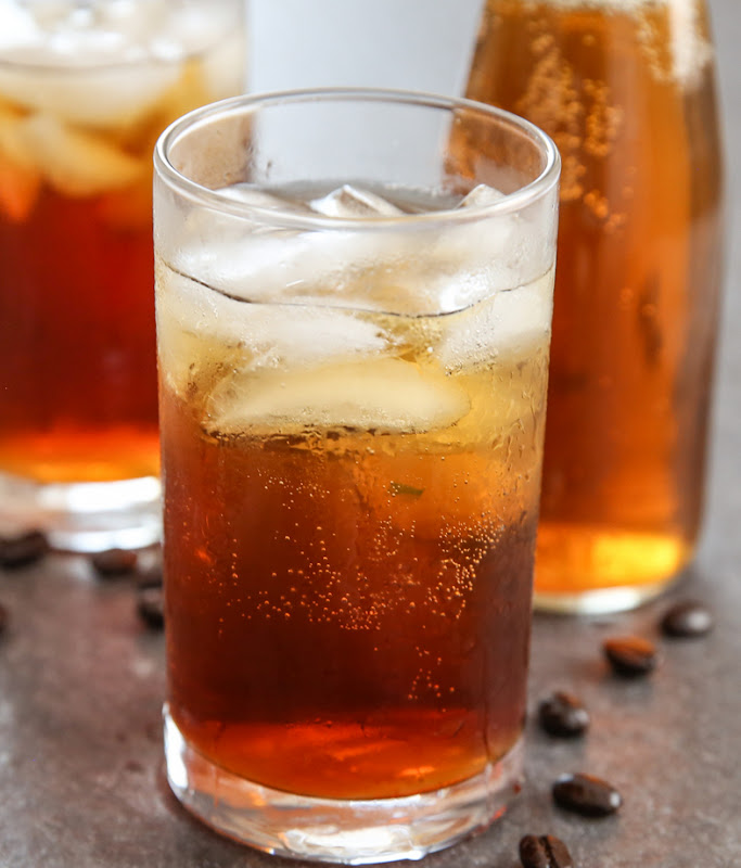 photo of a glass of Coffee Soda