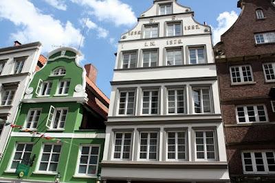 Hanseatic Houses in Hamburg Germany