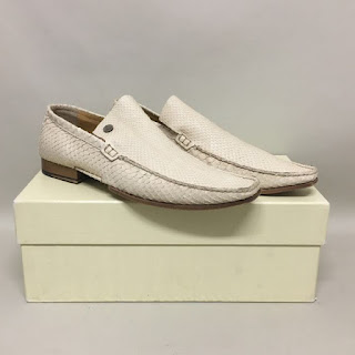 Calvin Klein Collection Python Loafers