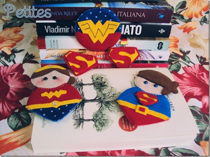 marcador de livro super heroi07