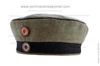 Niemiecka polowa czapka dragońska model 1910