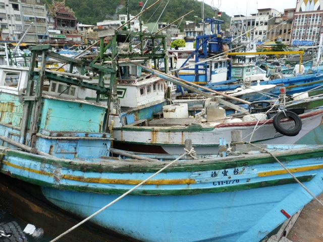 TAIWAN .Le port de SU AO - P1090085.JPG