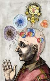 The Mind Of The Microcosm From Robert Fludd Utriusque Cosmi Historia 1619, Alchemical And Hermetic Emblems 1