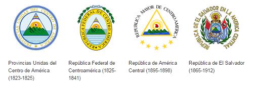 Historia escudo de El Salvador