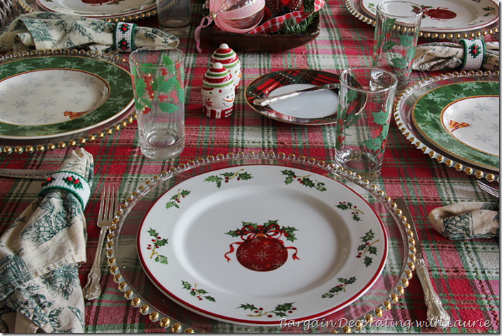 Christmas Dinner Plate-Christopher Radko Holiday Celebrations