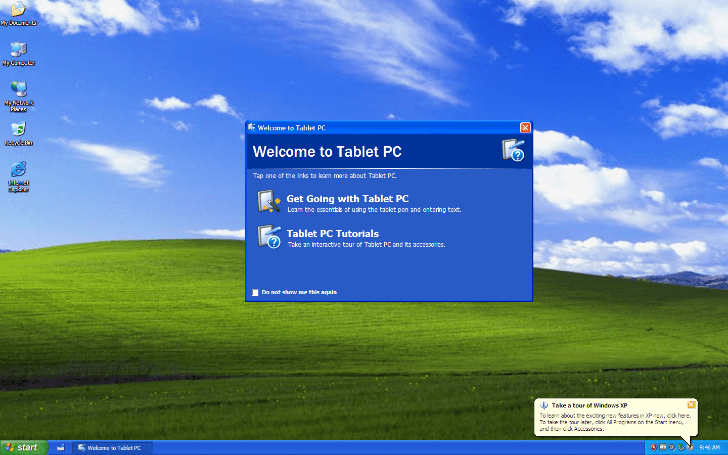 Windows XP Tablet PC Edition 2005 SP2 - VL (MSDN)