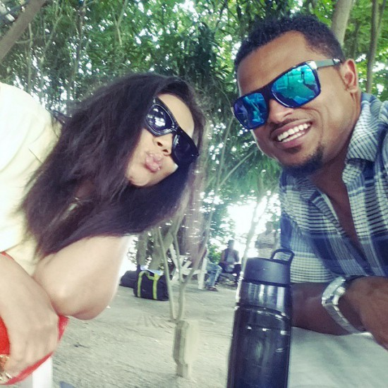 Nadia Buari and Van Vicker Shooting New Movie after years of being apart.