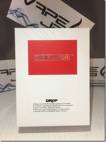 IMG 9340 thumb1 - 【爆煙スコンカー対応RDA】DIGIFLAVOR DROP RDA(デジフレーバー ドロップアールディーエー)レビュー~爆煙だけど濃厚フレーバー<*`∀´*>編~【電子タバコ/VAPE/ドリッパー】