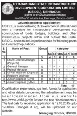 USIDCL Recruitment 2015 indgovtjobs