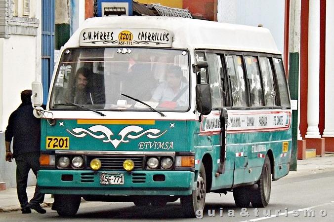 Ônibus de Lima