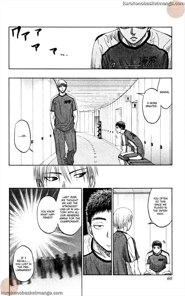 Kuroko no Basket Manga Chapter 63 - Image 14