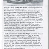 An article about the Thomas Kirk Wright's trips to Dunkirk, written by Brian Traves for the Association of Dunkirk Little Ships
