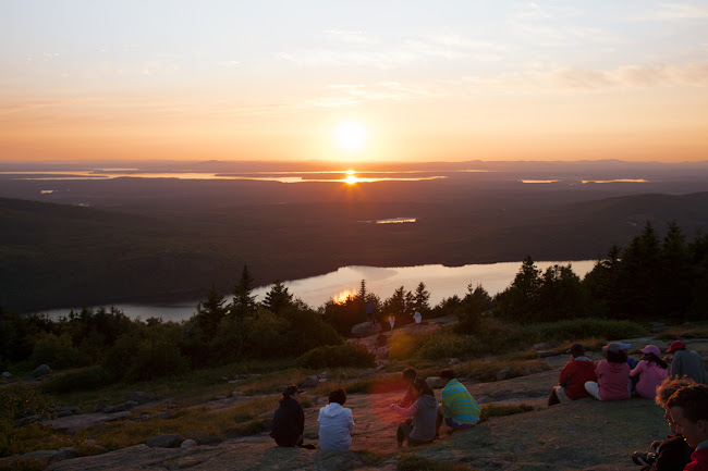Cadillac Mountain sunset