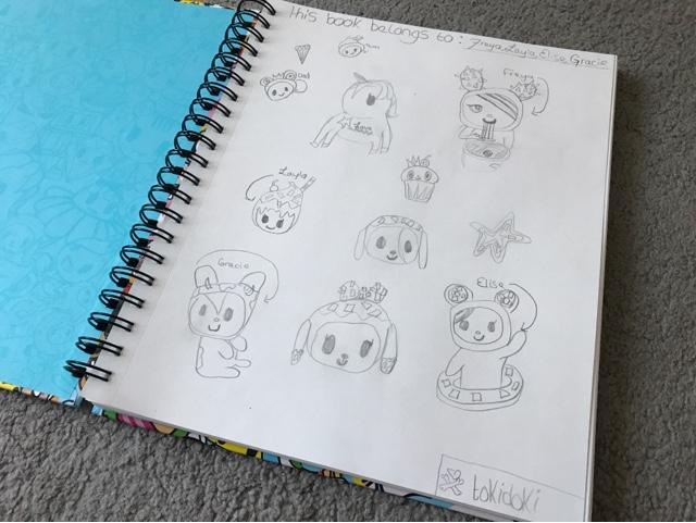 tokidoki-sketchbook