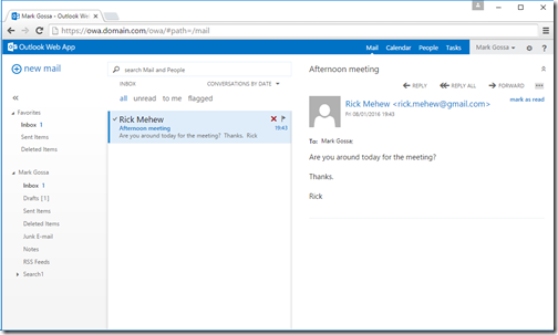 Technical Deep Dive: Spoofed email display name | Exchange 2016