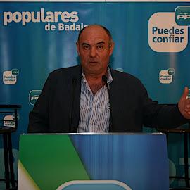 Presentación lista PP en Puebla de la Calzada