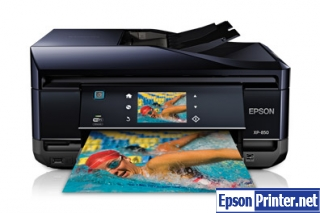 Reset Epson XP-213 printing device by application