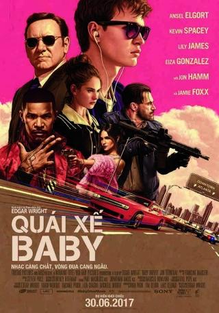 Quái Xế Baby - Baby Driver (2017)
