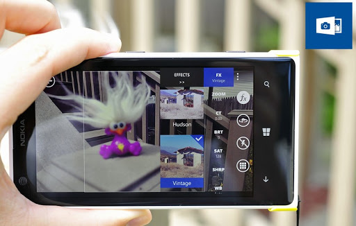 OneShot Camera app for Windows Phone