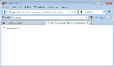 Acceso a base de datos MySQL con Symfony 2 utilizando Doctrine