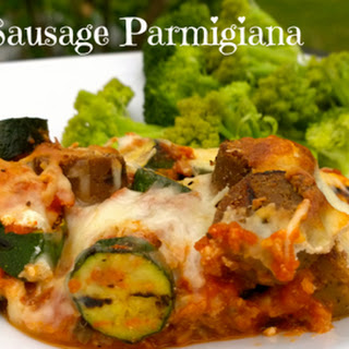 Zucchini & Sausage Parmigiana