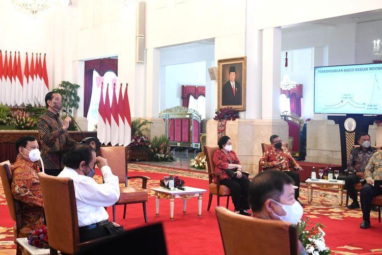 Pengamat Semakin Yakin Ada 'Misi Amendemen' di Balik Pertemuan Partai Koalisi Jokowi