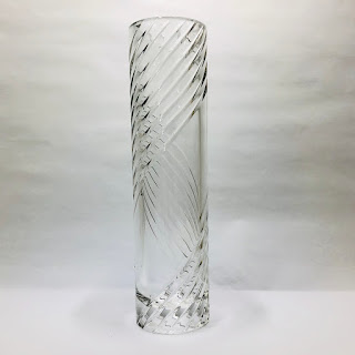 """Cartier Crystal 10"""" Vase"""