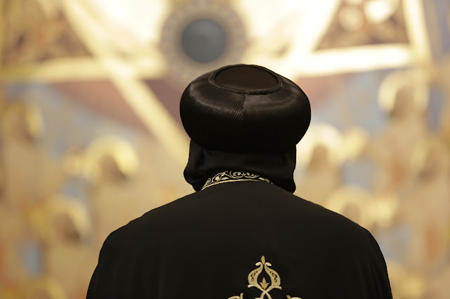 His Holiness Pope Tawadros II visit to St. Mark LA - _09A9110.JPG