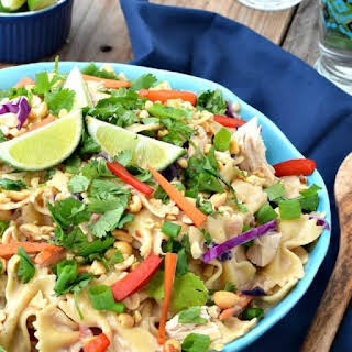 Creamy Thai Chicken Pasta.
