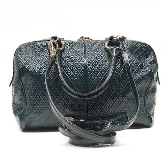 Tod's Embossed Patent Leather Crossbody Bag