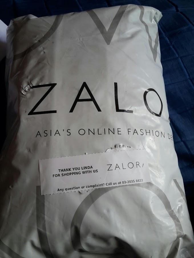 RM100 ZALORA BAJET UNTUK SHOPPING ONLINE | BERBALOI !