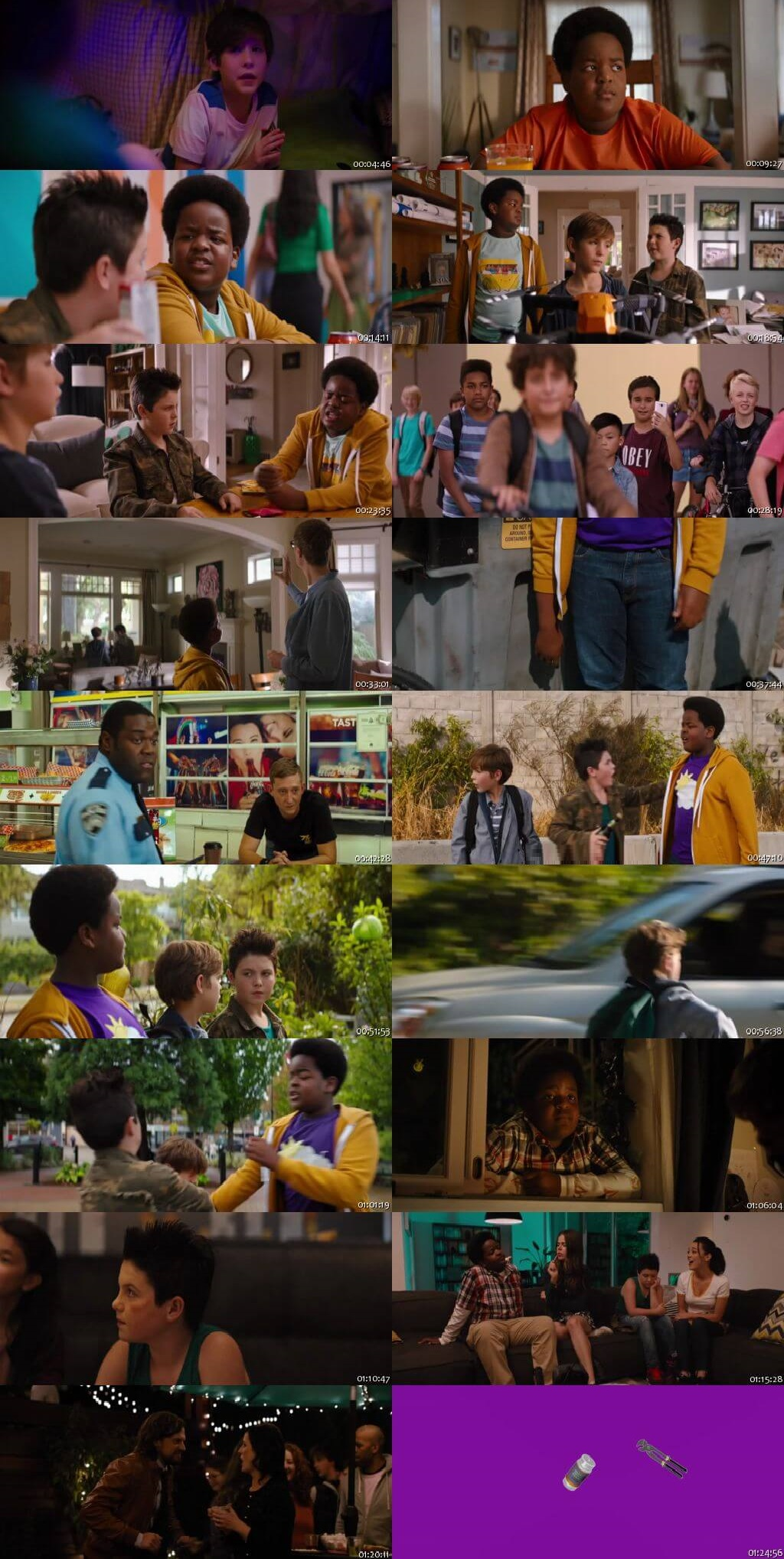 Screen Shot Of Good Boys 2019 Full Movie Download Free Watch Online 300MB