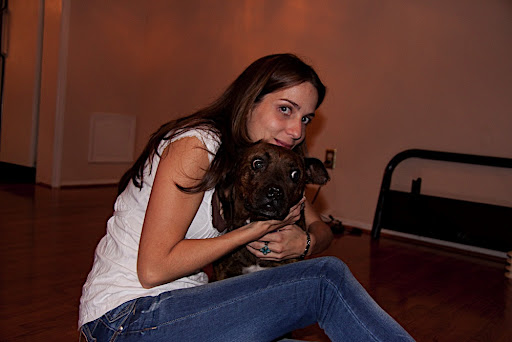 Ana with Petunia