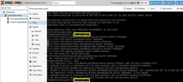 Cara Upgrade  Proxmox PVE VER 5.4  ke  VER. 6.2